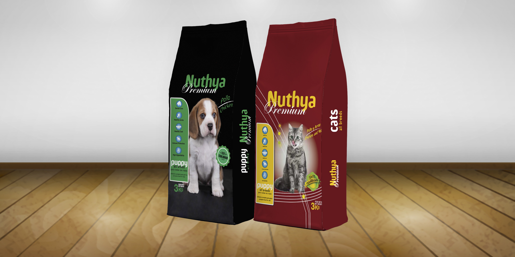 Nuevos Diseños Para Los Formatos De 3kg De Nuestra Gama Premium