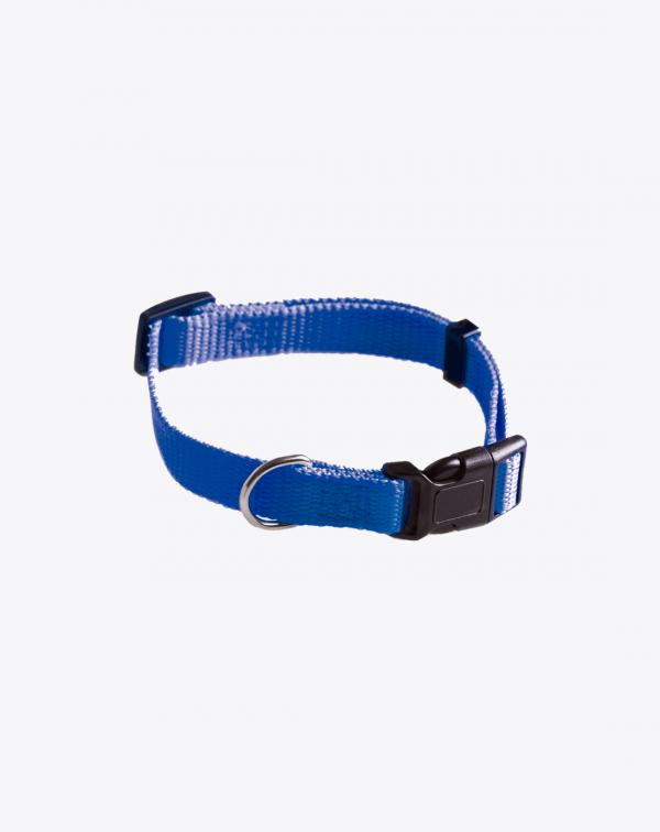 Collar Nylon Azul Nugape