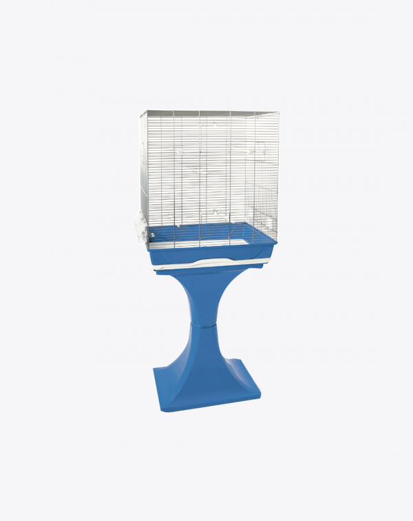 Bird cage with stand ambra
