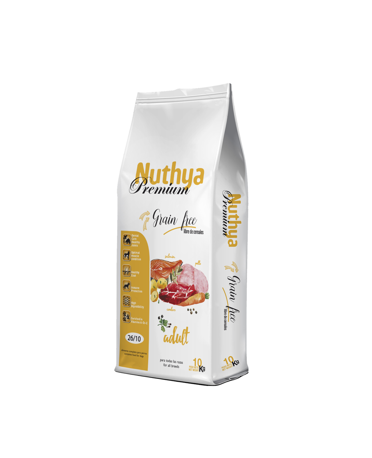 26/10 NUTHYA PREMIUM Adult Grain Free
