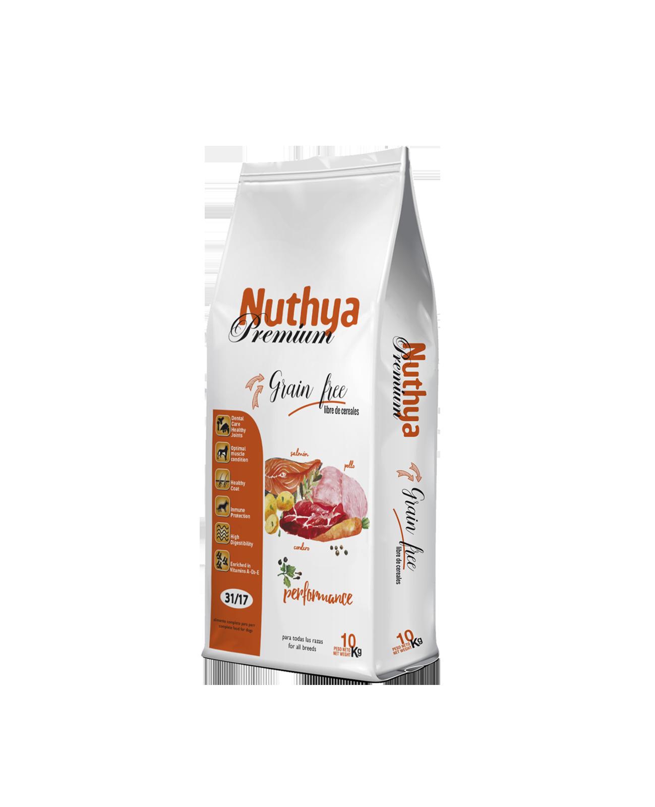 31/17 NUTHYA PREMIUM Performance Grain Free